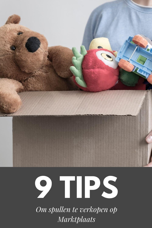 9 Tips om spullen te verkopen op Marktplaats