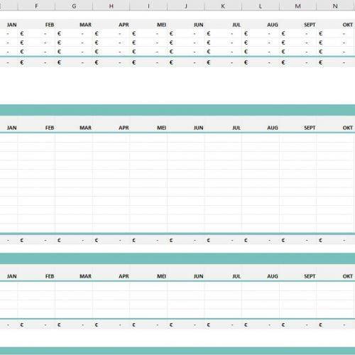 Budgetsheet