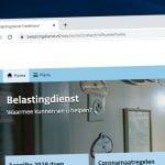 Belastingdienst website