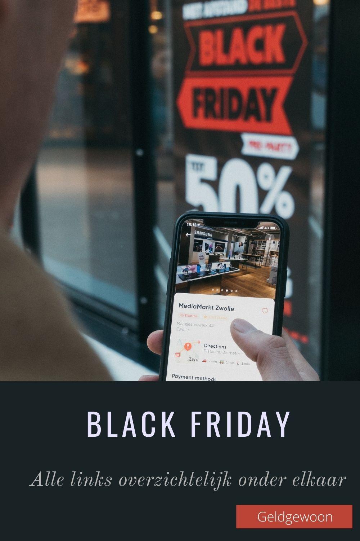 Black Friday – Alle links overzichtelijk onder elkaar