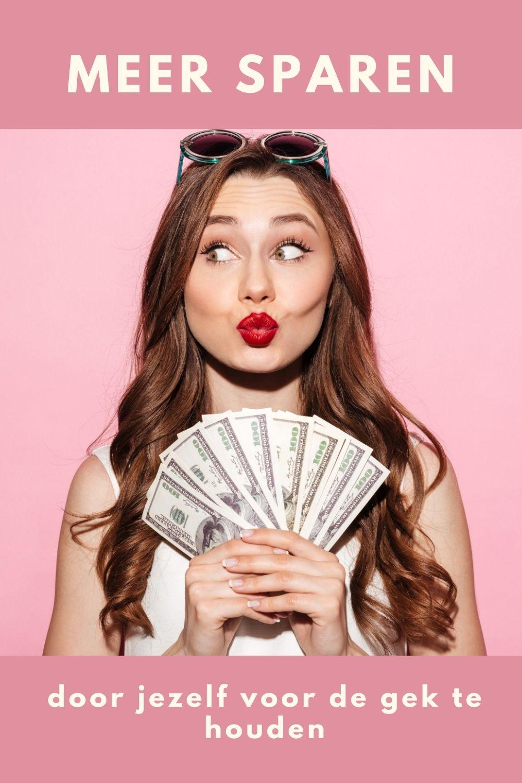 3 Manieren om meer geld te sparen – door jezelf voor de gek te houden