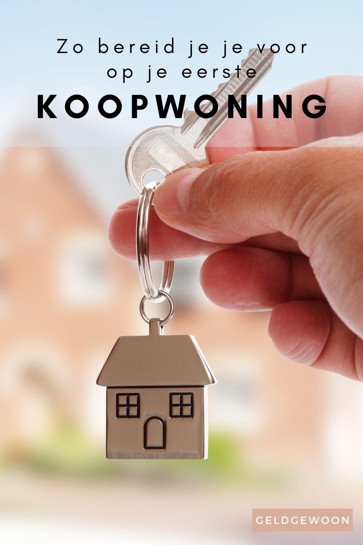 Zo bereid je jezelf voor op de koop van je eerste woning